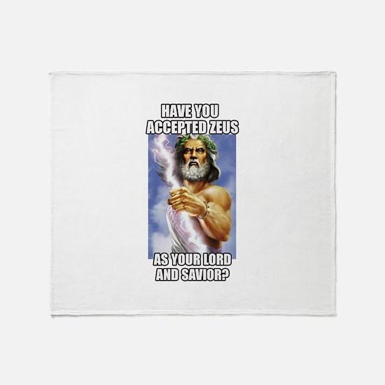 Zeus Throw Blanket