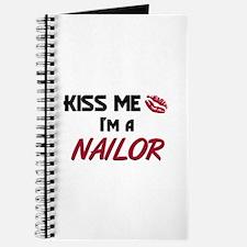 Kiss Me I'm a NAILOR Journal