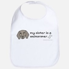 Unique Big sister pets Bib