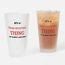 It's a Train Spotting thing, yo Drinking Glass