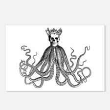 King Octoskull Postcards (Package of 8)