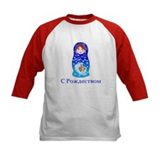 Russian Christmas Nesting Doll Tee