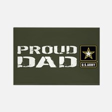 U.S. Army: Proud Dad (M Rectangle Magnet (10 pack)