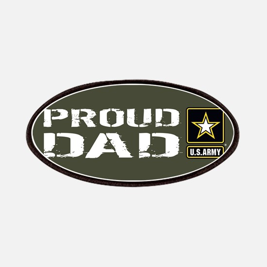 U.S. Army: Proud Dad (Military Green) Patch
