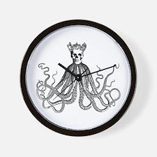 King Octoskull Wall Clock