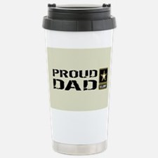 U.S. Army: Proud Dad (S Stainless Steel Travel Mug