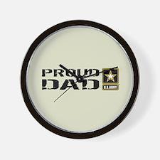 U.S. Army: Proud Dad (Sand) Wall Clock