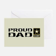 U.S. Army: Proud Dad (Sa Greeting Cards (Pk of 10)