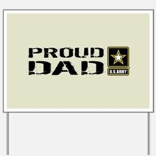U.S. Army: Proud Dad (Sand) Yard Sign