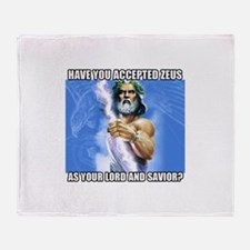 Zeus Throw Blanket