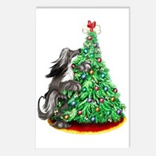 Afghan Hound Black ReachGoals Postcards (Package o