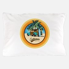 Woody Gone Surfing Round Pillow Case
