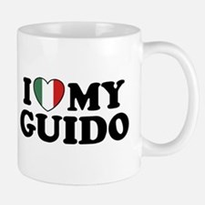 I Love My Guido Mug