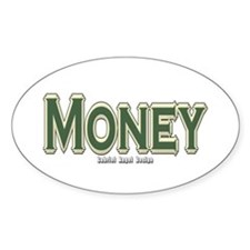 Money Oval Decal