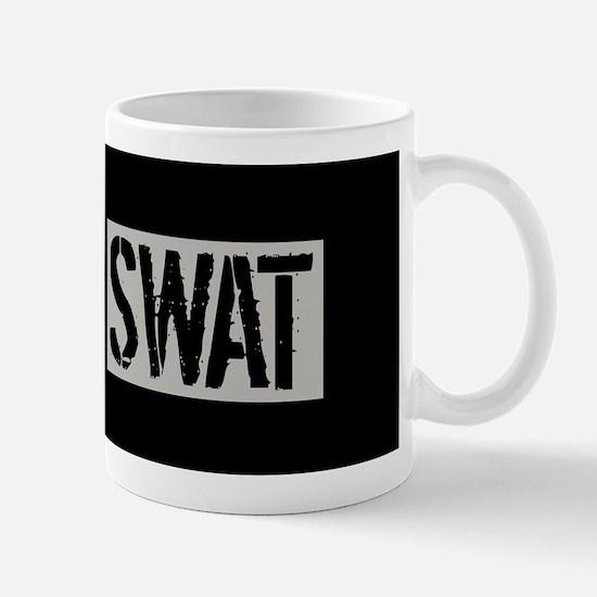 Police: SWAT (Black Flag Blue Line) Mug