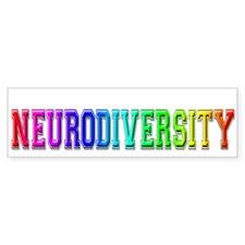 Neurodiversity University Bumper Car Sticker