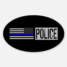 Police: Police (Black Flag, Blue Li Decal