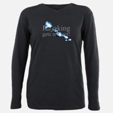 Sea kayak Plus Size Long Sleeve Tee