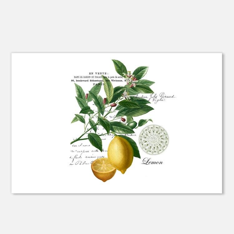 Modern Vintage Lemons Postcards (Package of 8)