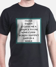 dart,darts T-Shirt