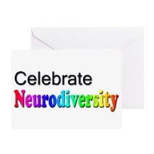 Celebrate Neurodiversity 2 Greeting Card