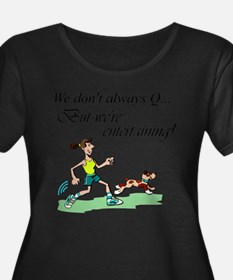 Don't Always Q Plus Size T-Shirt
