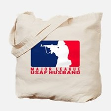Major League Husband 2 - USAF Tote Bag