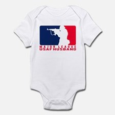 Major League Husband 2 - USAF Infant Bodysuit