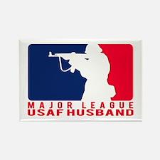Major League Husband 2 - USAF Rectangle Magnet