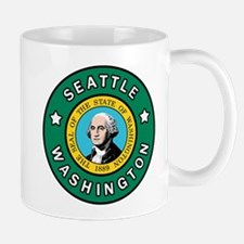 Seattle Washington Mugs