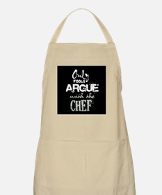 Only Fools Argue With The Chef Apron