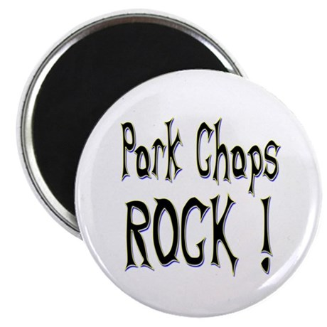 "Pork Chops Rock ! 2.25"" Magnet (10 pack)"