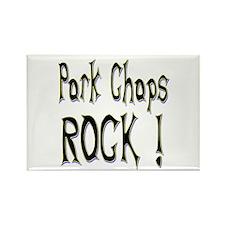 Pork Chops Rock ! Rectangle Magnet