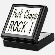 Pork Chops Rock ! Keepsake Box