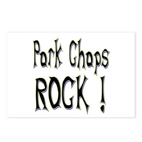 Pork Chops Rock ! Postcards (Package of 8)