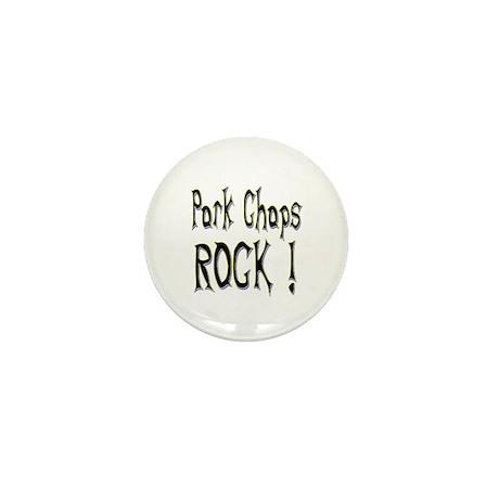 Pork Chops Rock ! Mini Button (100 pack)