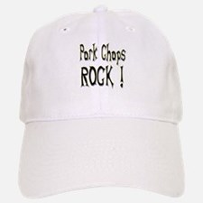 Pork Chops Rock ! Baseball Baseball Cap