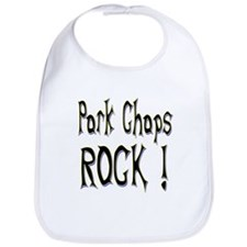 Pork Chops Rock ! Bib