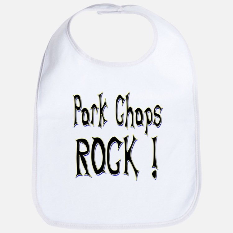 Pork Chops Rock ! Bib