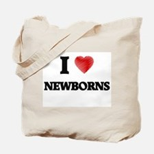 I Love Newborns Tote Bag