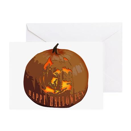 pumpkin pit Greeting Card