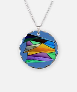 Kite flying 1 Necklace
