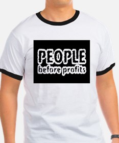 people before profit T