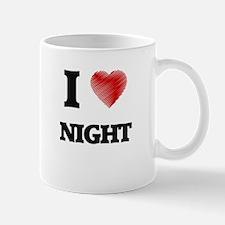 I Love Night Mugs