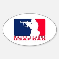 Major League Dad 2 - USAF Oval Decal