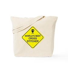 Crossstitcher Tote Bag
