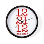 2012 End Wall Clock