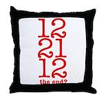2012 End Throw Pillow