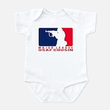 Major League Cousin 2 - USAF Infant Bodysuit