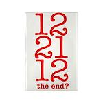 2012 End Rectangle Magnet